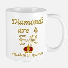 Queens jubilee 2012 diamonds are forever Mug