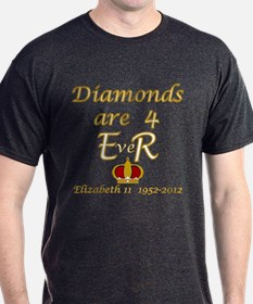 Queens jubilee 2012 diamonds are forever T-Shirt