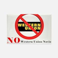 Western Union Novio Rectangle Magnet