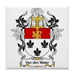Van den Water Coat of Arms Tile Coaster