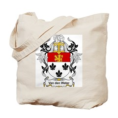 Van den Water Coat of Arms Tote Bag