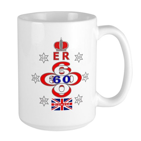 Queen Elizabeth jubilee 60 years star design Large