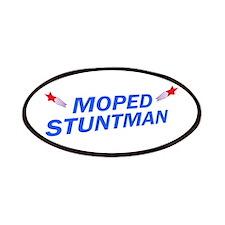 Moped Stuntman Patches