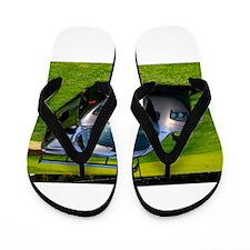 Cute Landshark Flip Flops