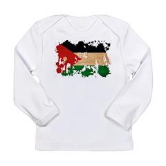 Jordan Flag Long Sleeve Infant T-Shirt
