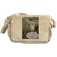 Unique Knit Messenger Bag