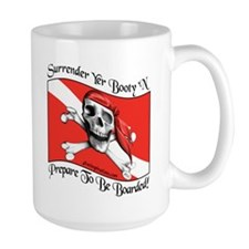Surrender Yer Booty Mug