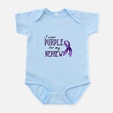 Wear Purple - Nephew Infant Bodysuit