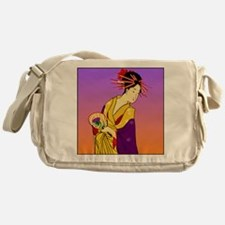 Geisha Girl Messenger Bag