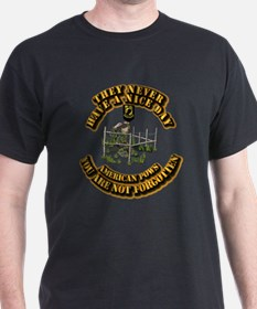 POW - They Never Have a Nice Day T-Shirt