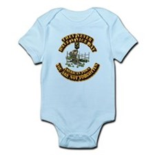 POW - They Never Have a Nice Day Infant Bodysuit