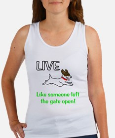 Live the gates open Women's Tank Top