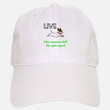 Live the gates open Baseball Baseball Cap