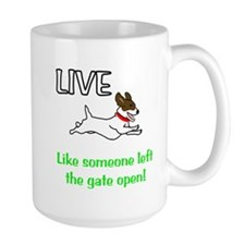 Live the gates open Mug