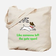 Live the gates open Tote Bag