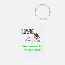 Live the gates open Keychains