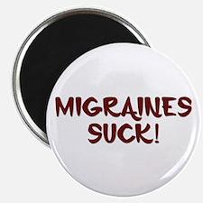 Migraines Suck! Magnet