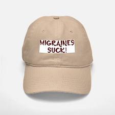 Migraines Suck! Baseball Baseball Cap