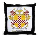 Vermeulen Coat of Arms Throw Pillow