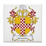 Vermeulen Coat of Arms Tile Coaster