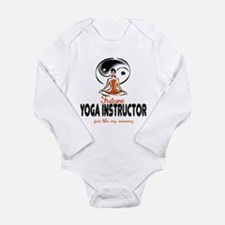 Unique Soother Long Sleeve Infant Bodysuit