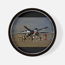 Thunderbirds Taxi Back Wall Clock