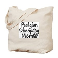 Belgian Sheepdog MOM Tote Bag