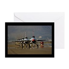 Thunderbirds Taxi Back Greeting Cards (Package of