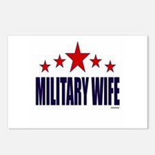 Military Wife Postcards (Package of 8)