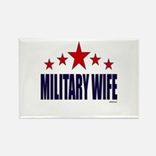 Military Wife Rectangle Magnet