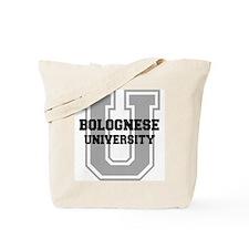 Bolognese UNIVERSITY Tote Bag
