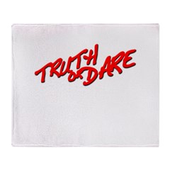 Truth or Dare Throw Blanket