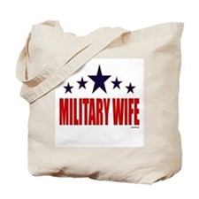 Military Wife Tote Bag