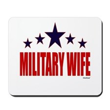 Military Wife Mousepad