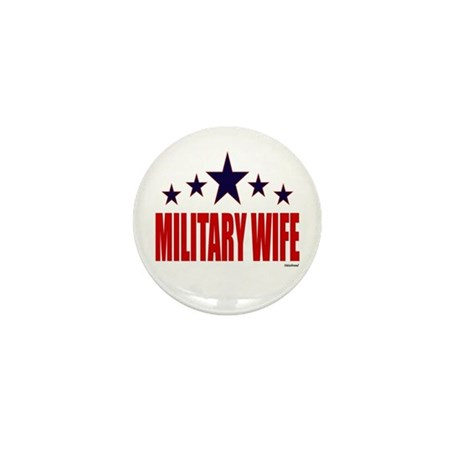 Military Wife Mini Button (100 pack)