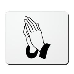 Prayer Hands Mousepad
