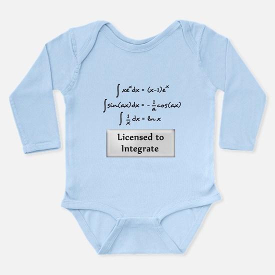 Licensed to Integrate Long Sleeve Infant Bodysuit