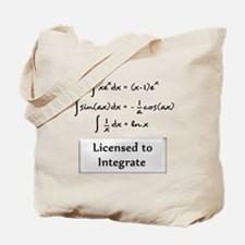 Licensed to Integrate Tote Bag