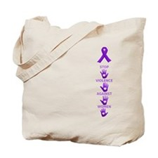 Stop Violence Against Women Tote Bag
