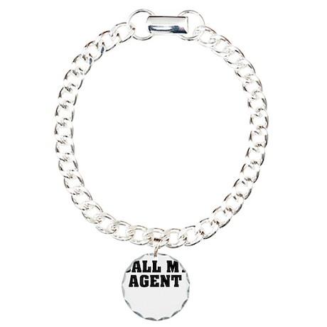 Call My Agent Charm Bracelet, One Charm