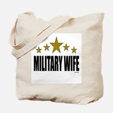 Military Wife Tote Bag