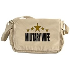 Military Wife Messenger Bag