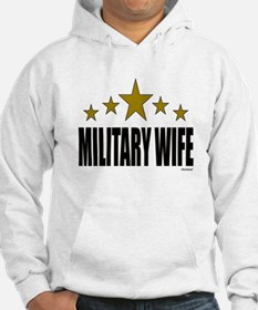 Military Wife Hoodie Sweatshirt