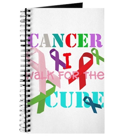 I walk for the Cure of Cancer Journal