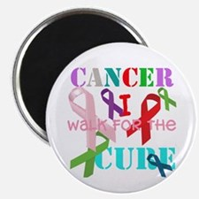 I walk for the Cure of Cancer Magnet
