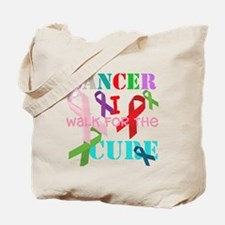 I walk for the Cure of Cancer Tote Bag