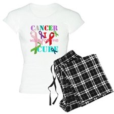 I walk for the Cure of Cancer Pajamas