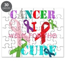 I walk for the Cure of Cancer Puzzle