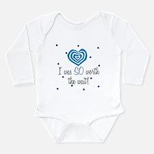 Cute Born early Long Sleeve Infant Bodysuit