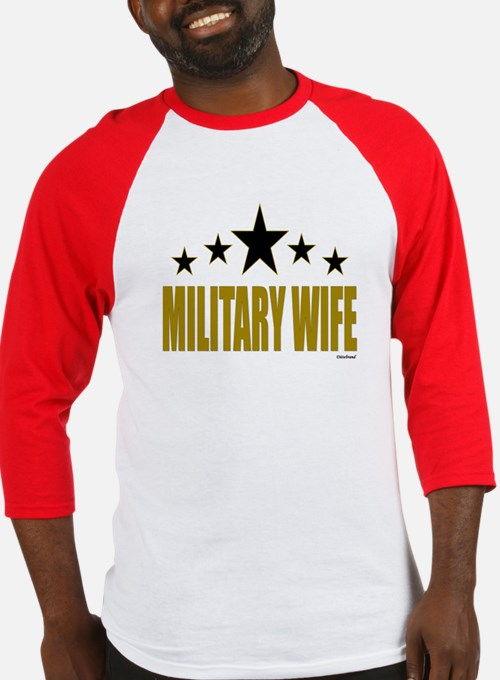 Military Wife Baseball Jersey